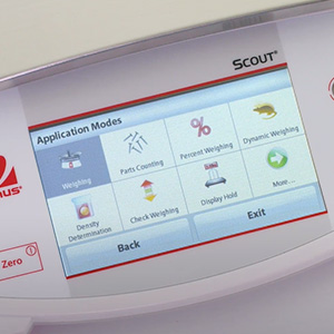 Scout STX Weighing Icons